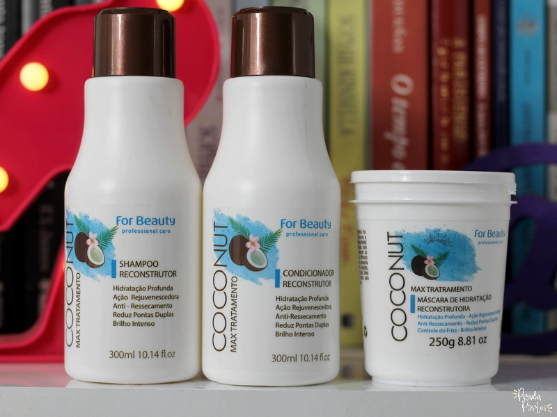 linha coconut for beauty