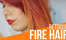 retoque do fire hair