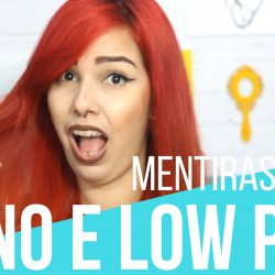 mentiras sobre no e low poo