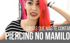 piercing no mamilo