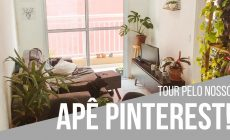apê decorado estilo Pinterest