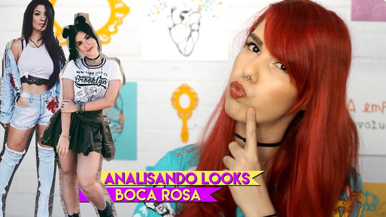 Analisando looks da Boca Rosa
