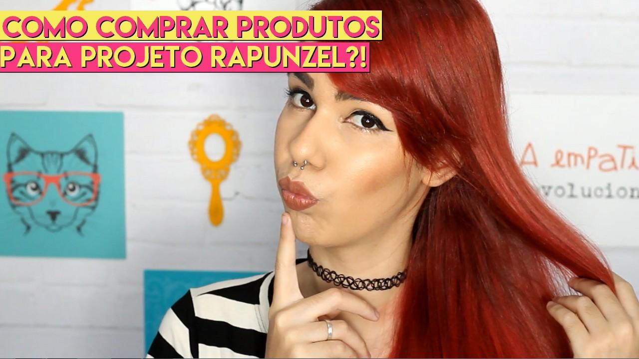produtos para Projeto Rapunzel