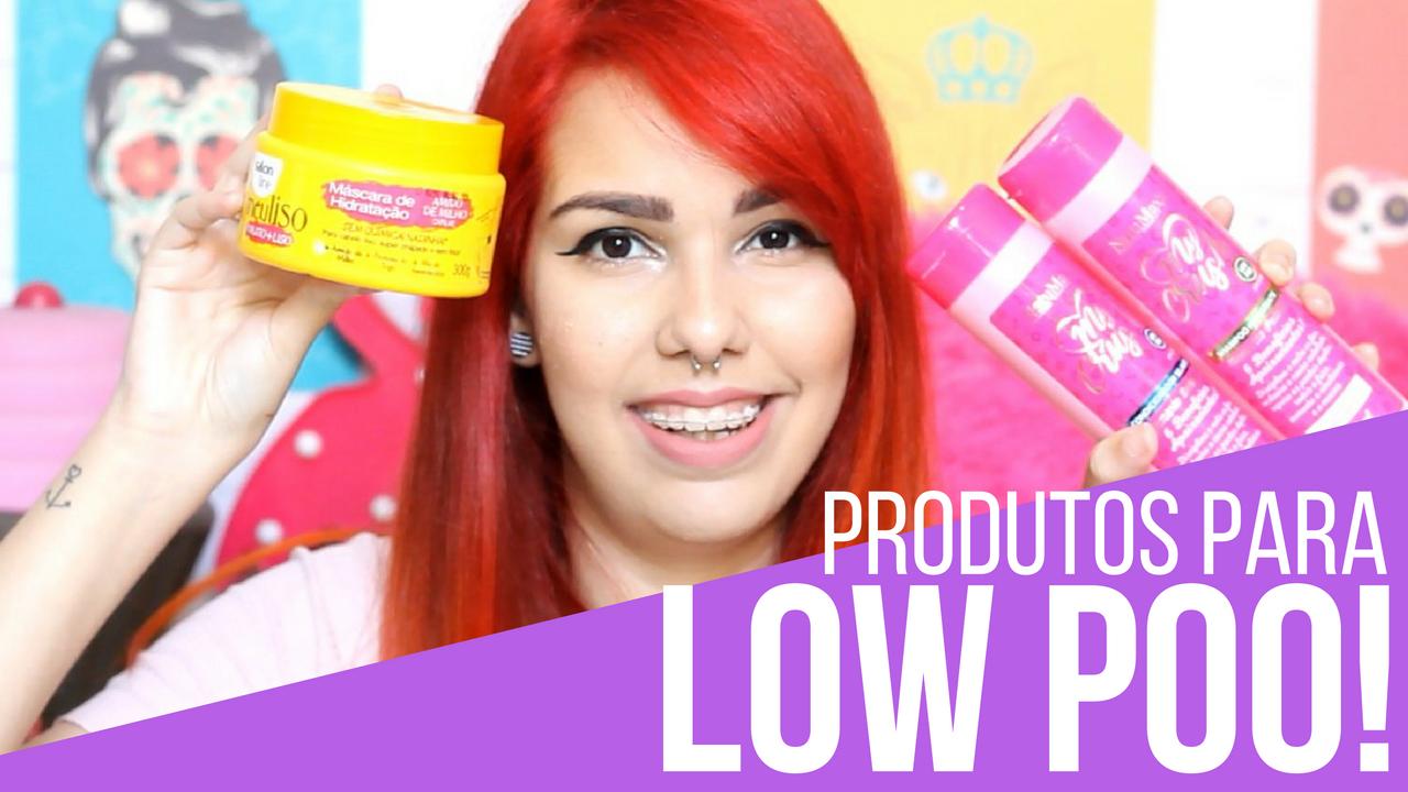 produtos para low poo
