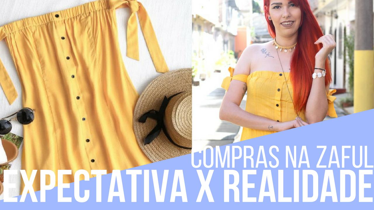 expectativa x realidade de roupas da China