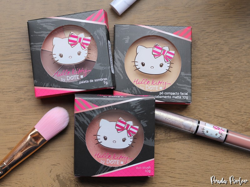maquiagens Hello Kitty by Dote
