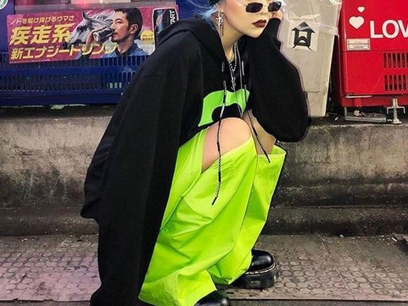 roupas neon