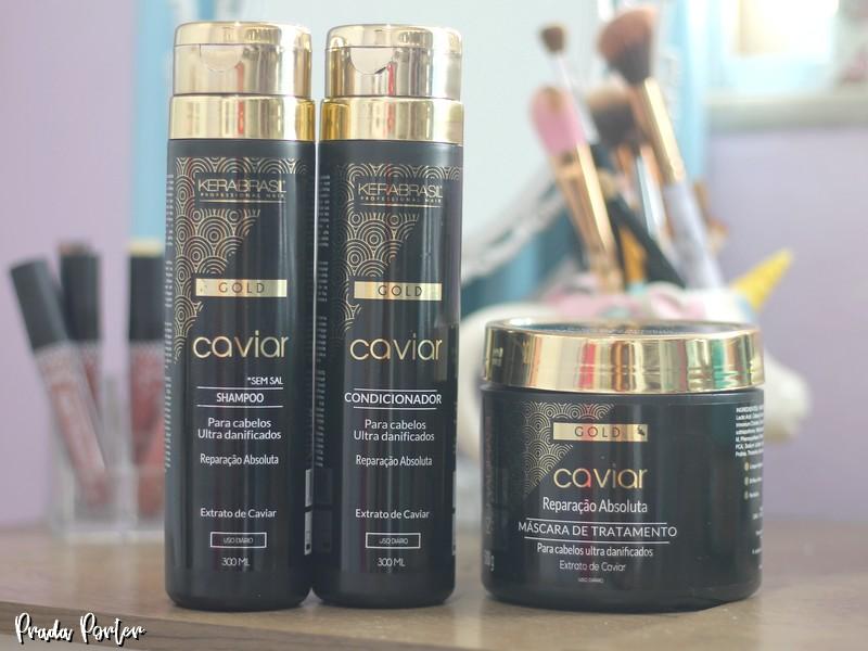 Linha Gold Caviar Kera Brasil
