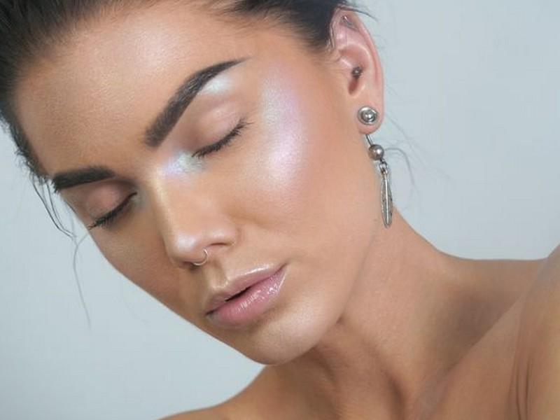 maquiagem holográfica
