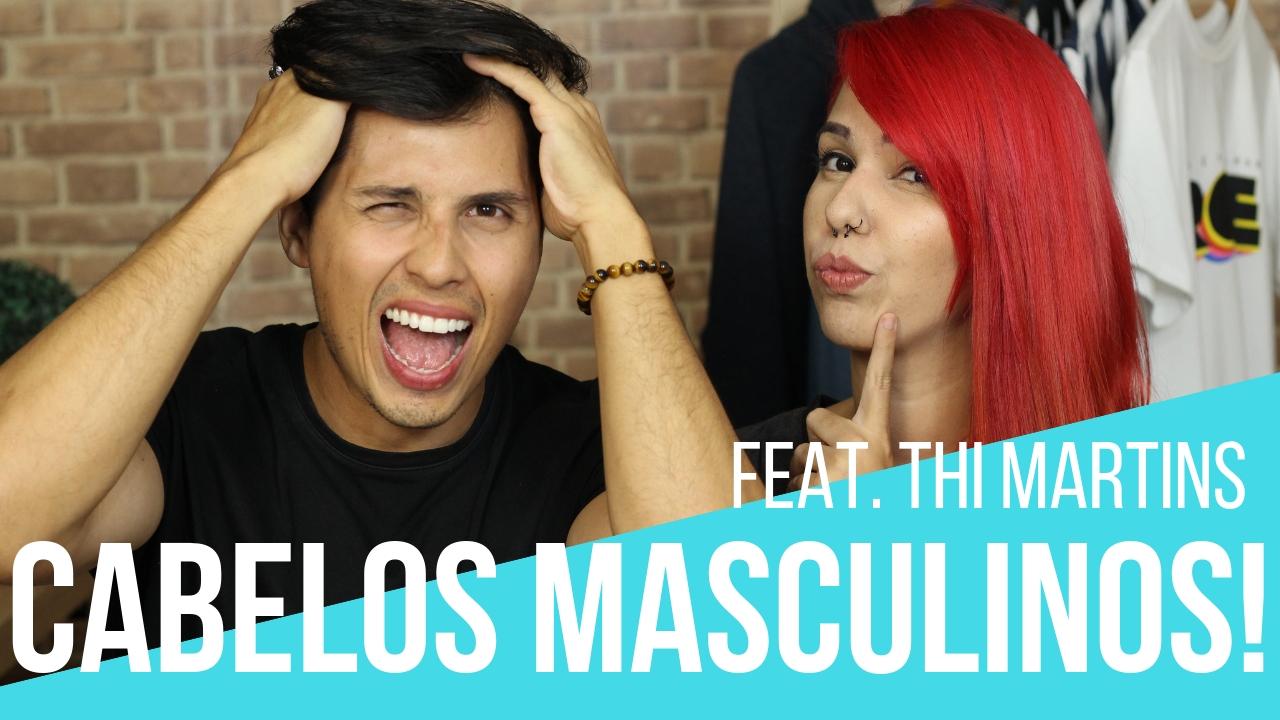 dicas para cabelos masculinos