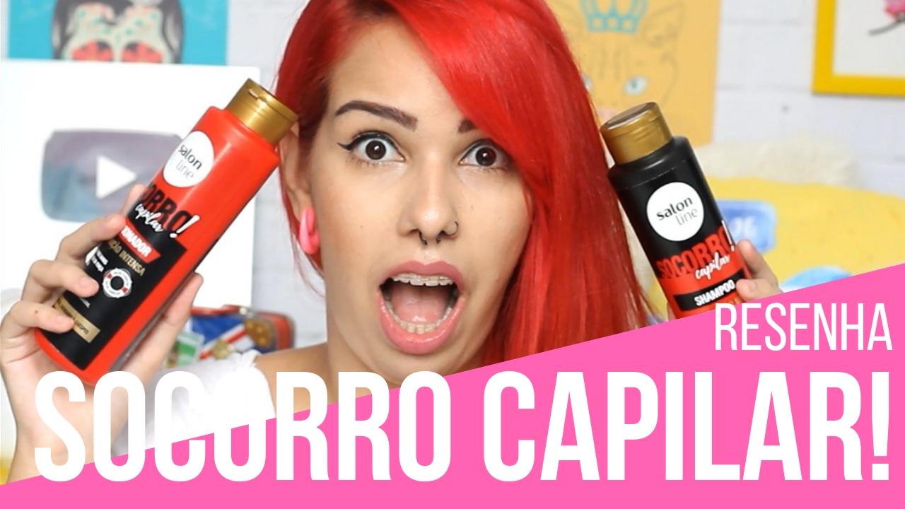 Shampoo e condicionador SOCORRO CAPILAR
