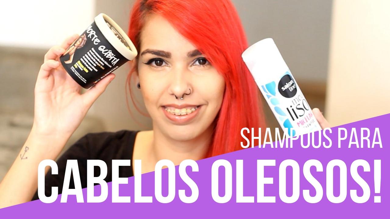 shampoos para cabelos oleosos