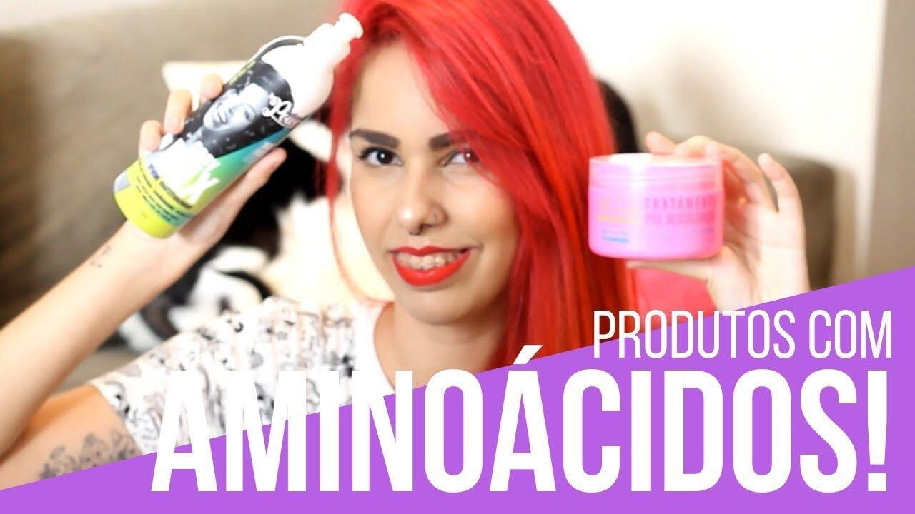 Produtos com aminoácidos