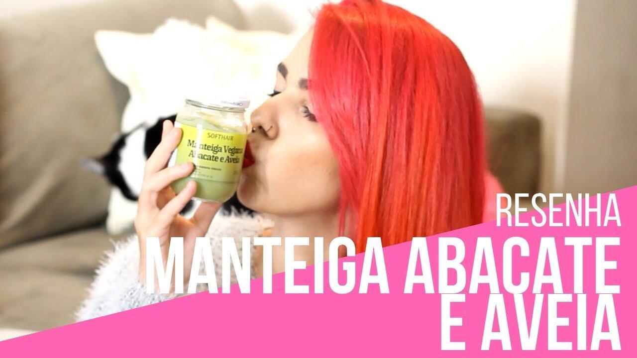 manteiga vegana abacate e aveia soft hair