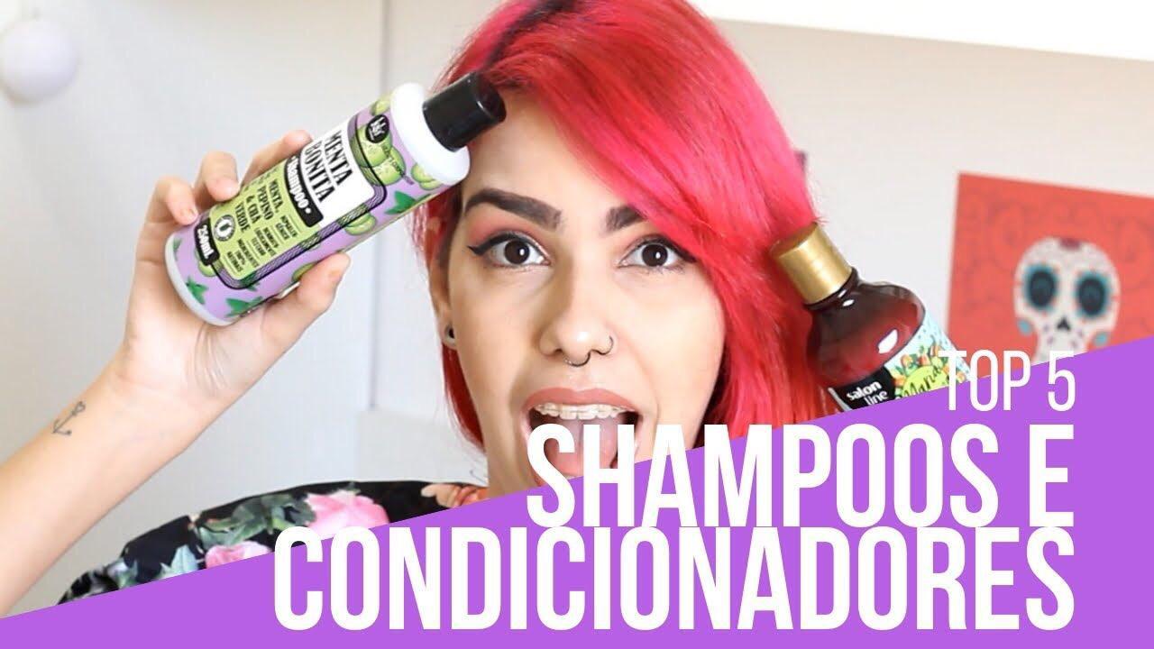 Shampoos e condicionadores muito tops