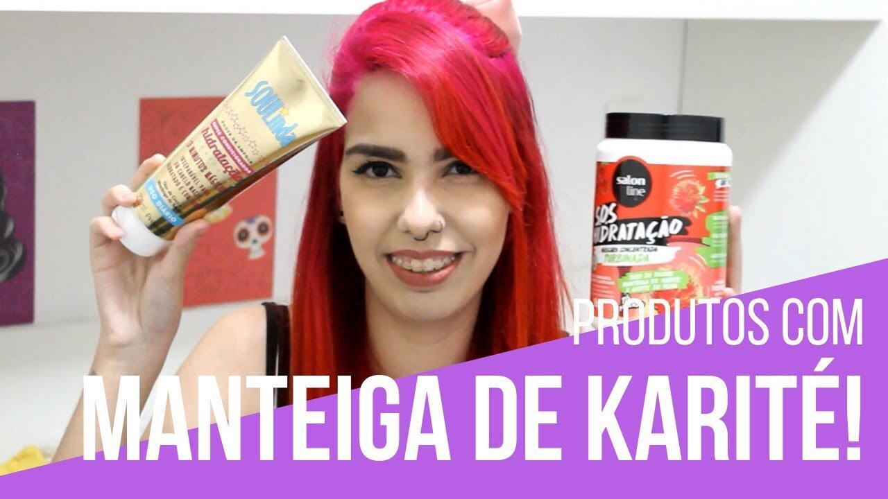 produtos com manteiga de karité