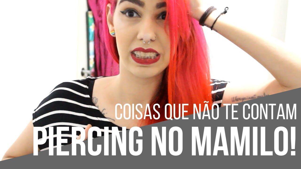 piercing no mamilo