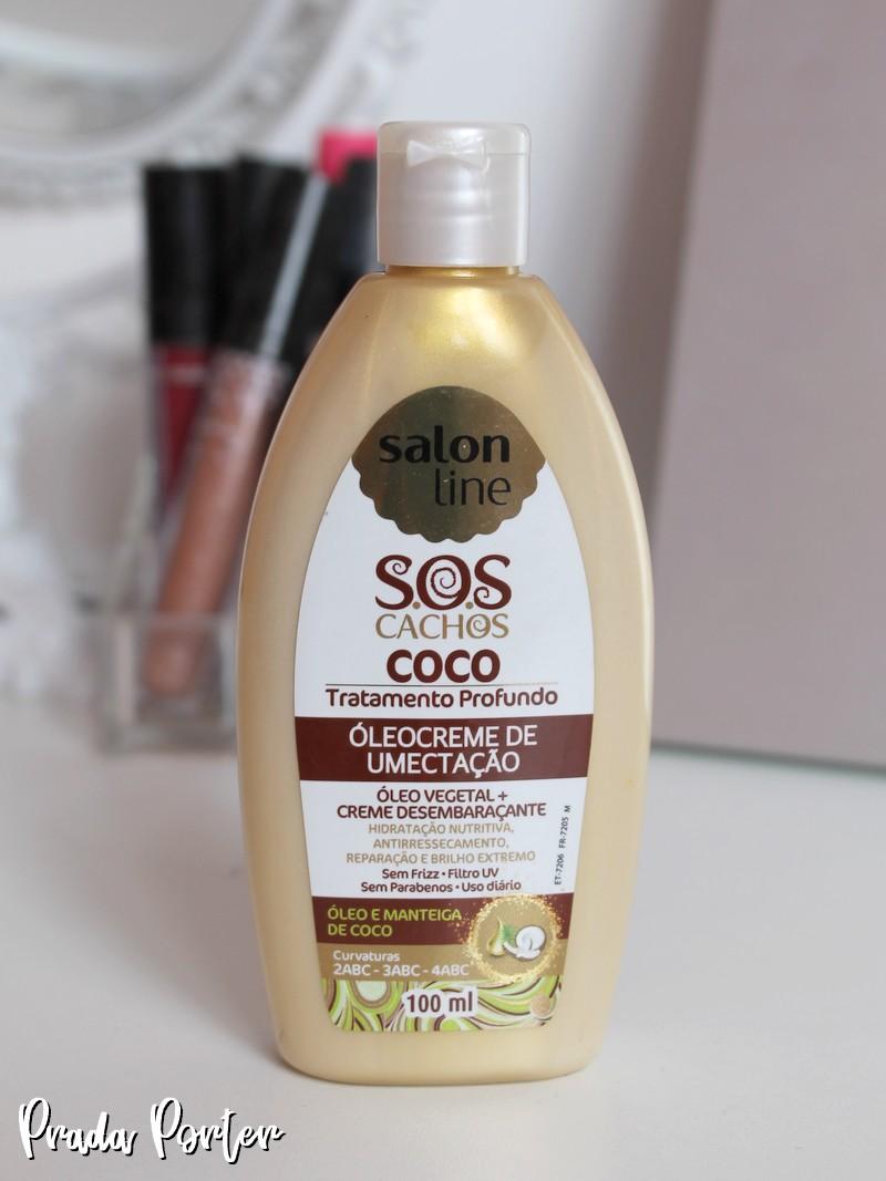 Óleo-creme Coco Salon Line