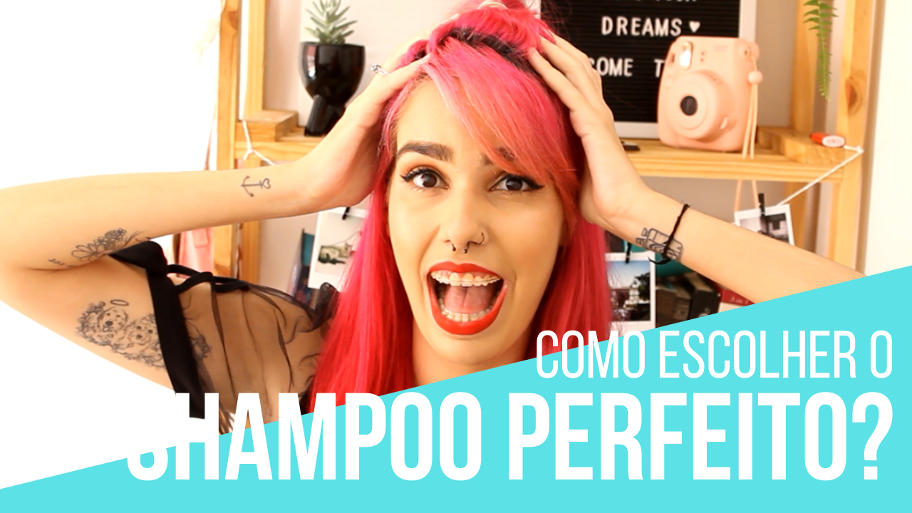 como escolher o shampoo perfeito