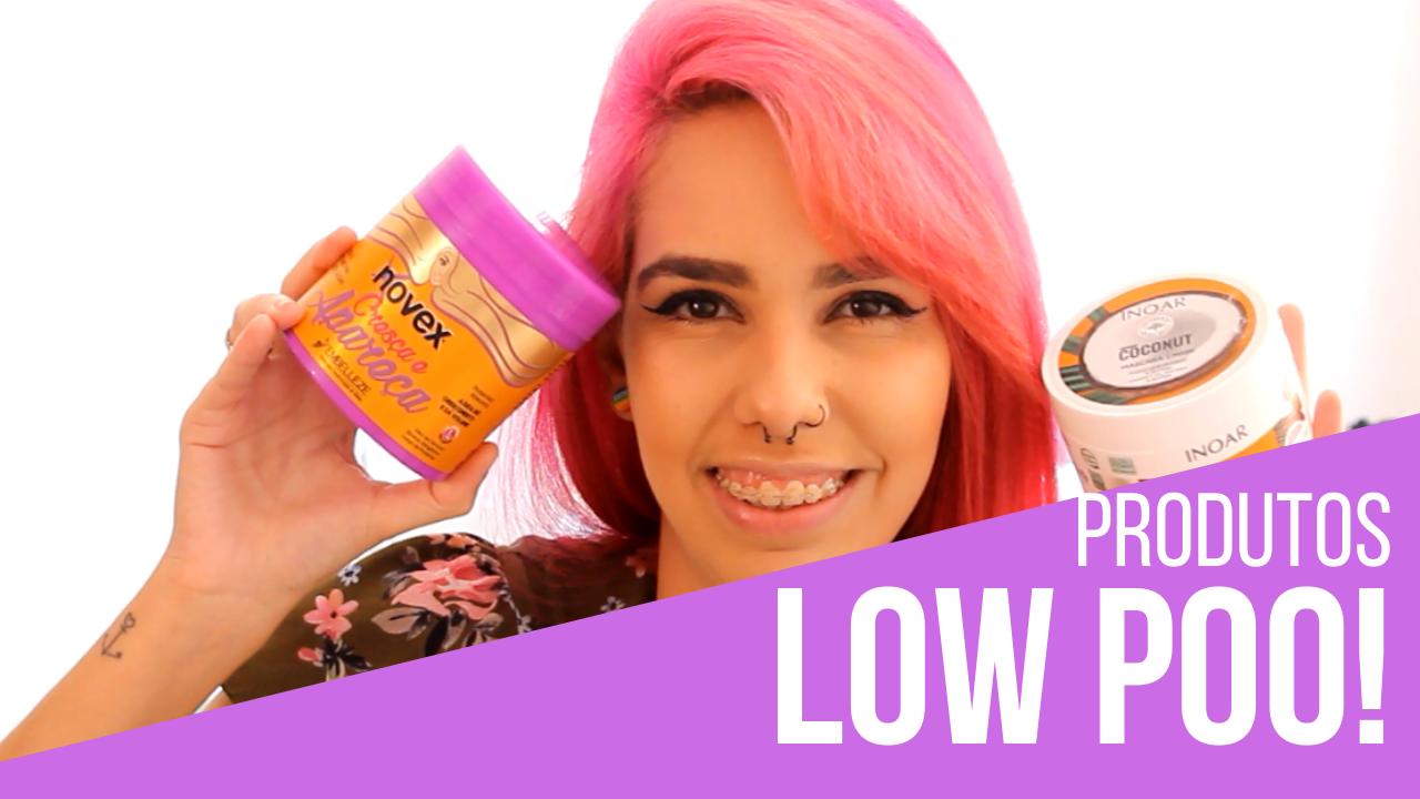 melhores produtos low poo