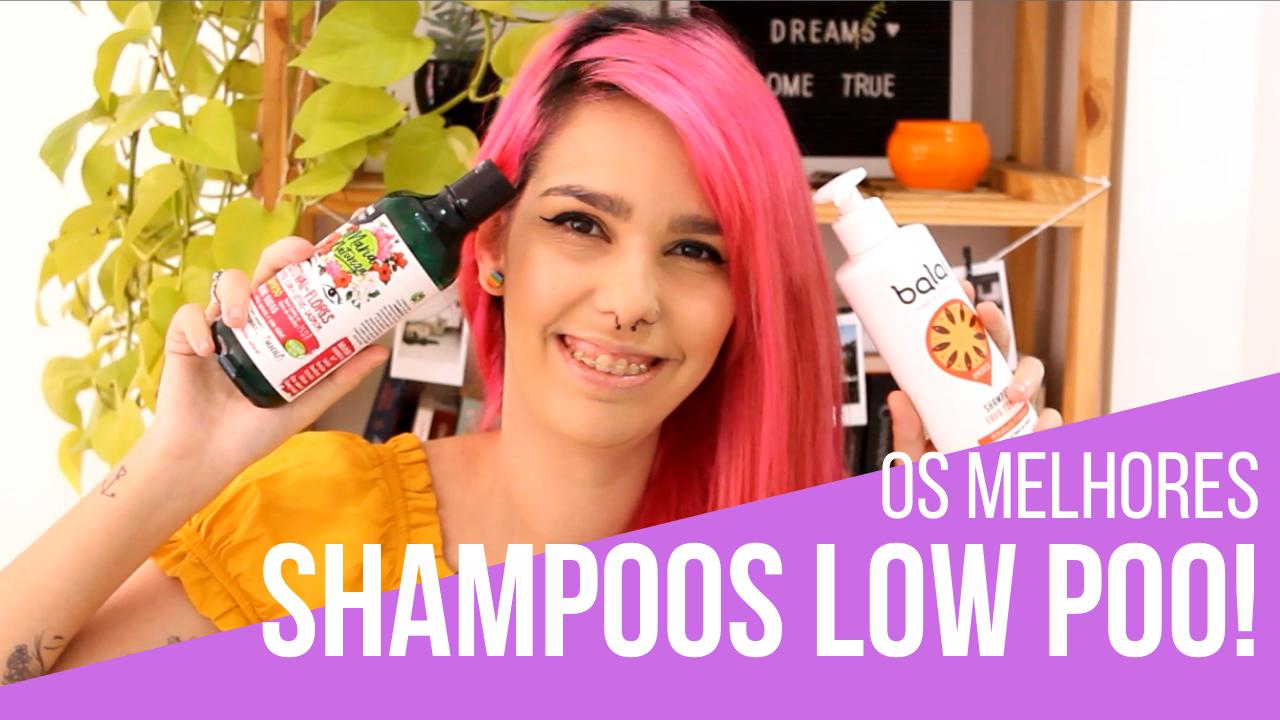 melhores shampoos low poo