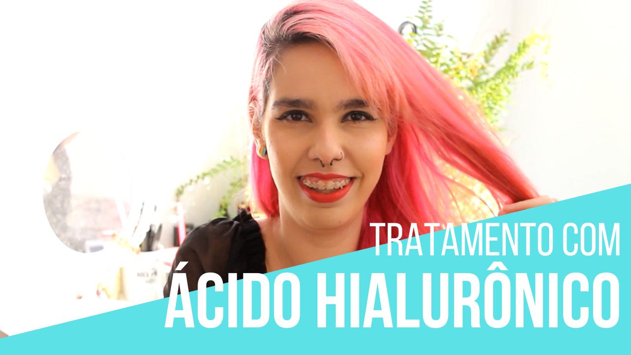 ácido hialurônico no cabelo