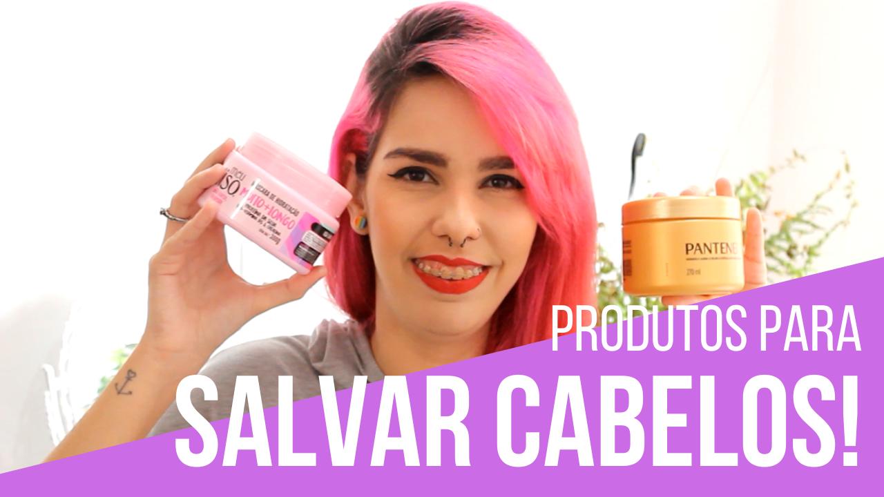 produtos para salvar cabelos danificados