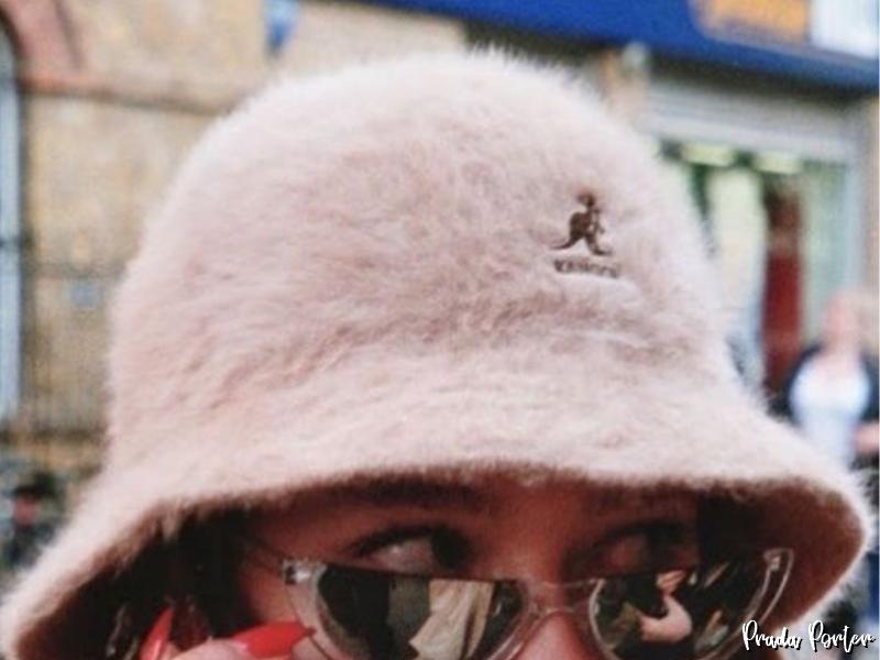 chapéu de pelúcia