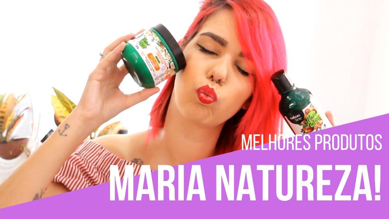 melhores produtos Maria Natureza Salon Line